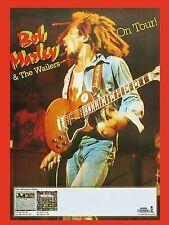 "Bob Marley German 16"" x 12"" Photo Repro Concert Poster"