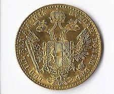 1 Dukat Österreich Goldmünze 1915 Gold 986