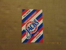Ahl Baltimore Skipjacks Hockey Vintage Circa 1992-93 Logo Hockey Pocket Schedule