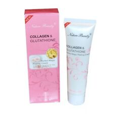 3Pcs Nature Beauty Collagen and Glutathione Peeling Cream 100g MADE IN HONG KONG