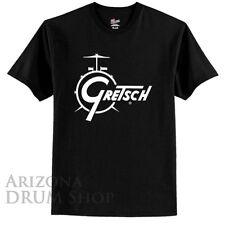 GRETSCH Black Classic Logo Tee / Tshirt - Mens MEDIUM - Genuine Gretsch Apparel!