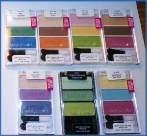 """NEW Wet n Wild """"Limited Edition"""" Multi-Color Trio Eyeshadow Palette    Free Ship"""