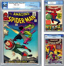 AMAZING SPIDER-MAN #38-39-40 PGX-CGC 7.0-6.0-5.0 *LAST DITKO & 1ST ROMITA* 1966