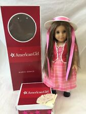 American Girl Doll MARIE GRACE w/ Outfit Hat and Fan