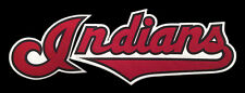"""1994-2001 CLEVELAND INDIANS MLB BASEBALL 12"""" HOME JERSEY SCRIPT PATCH"""