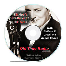 Ripley's Believe It Or Not!, 1,483 Old Time Radio Shows, Weird OTR, DVD CD G12