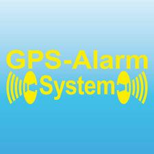 GPS Système D'Alarme Jaune en Sens Inverse Partie Intérieure Voiture Vitre pour