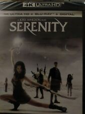 Serenity, 2005. 4k + Blu-Ray + Digital. New and Sealed.