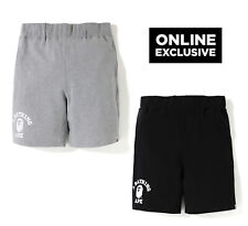 A BATHING APE ONLINE EXCLUCIVE COLLEGE SWEAT SHORTS Pants 2 Colors Japan new