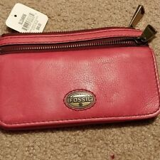 Fossil Explorer Flap Clutch DUSTY ROSE PINK SL3246656 NEW