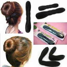 2Pcs Hair Magic Sponge Clip Foam Bun Curler Twist Hair Tool Styling Accessories