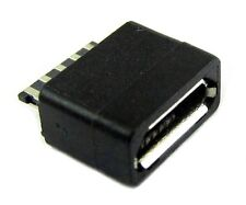 2 pcs Micro USB 5pin B Type Female Jack socket connector Plastic Cover new - UK