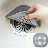 Silicone Kitchen Sink Strainer Filter Drain Cover Hair Catcher Cover Stopper New