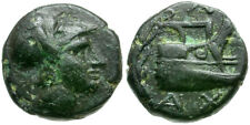 *CCC*  Kings of Macedon. Demetrios I Polorketes Æ 1/4 Unit / Prow