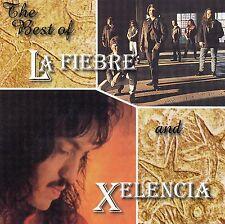 La FIEBRE  /  XELENCIA           The best of        USA   CD   EMI   1998 !