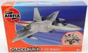 Airfix Quick Build Model Aircraft Kit J6005 - F22 Raptor