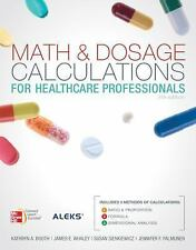 Math and Dosage Calculations for Health Care Professionals with Student CD by...