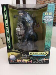 Godzilla Bank - 1998 Trendmasters - Tested & Working - With Box