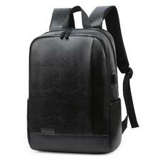 Mens Boys Leather Travel Fashion Backpack Satchel Rucksack Shoulder School Bags