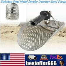 Beach Sand Scoop Ancient Coins Metal Detector Hunting Tool Stainless Steel