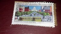 Stamp, District of Columbia Bicentennial, USA, .29, Pennsylvania Ave, Circa 1903