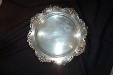 E.G. Webster & Son Orleans EPNS Platter