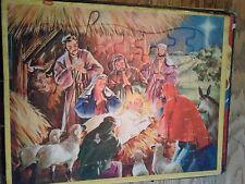 Vintage Jaymar Nativity puzzle