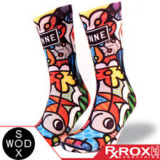 Lynne by WODSOX | Breathable Cushioned WOD Socks UK Size 7-11 | CrossFit