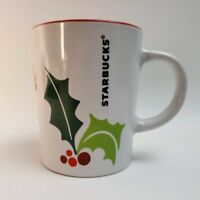 Starbucks Mug Christmas Holiday Cup Red & Green 9 oz Coffee, 2011
