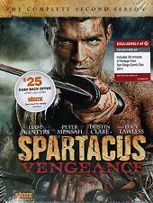SPARTACUS: VENGEANCE [Season 2] [TARGET-EXCLUSIVE 4-DVD SET] NEW! Liam McIntyre