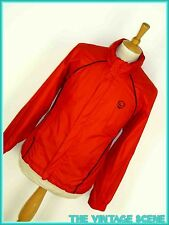 MENS PRO TOUCH BRIGHT RED KAGOUL WATERPROOF RAIN TRAINING JACKET FOOTBALL S