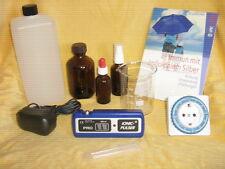 IONIC PULSER PRO mit Zubehör: Buch, Glas, Timer, 3 Flaschen, 1L  Aqua dest.