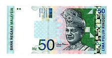 Malaysia ... P-43d ... 50 Ringgit ... (2000) ... *XF/AU*