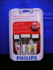 Philips Composite S-AV  Cable S Video / Wii Xbox