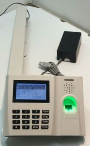 BioStore FingerPrint Scanner Time Keeping Clock * PartCode 200120 (BIO1P00075)