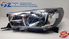 TOYOTA HILUX Head light Headlamp left LHS Passenger side 07/2015+
