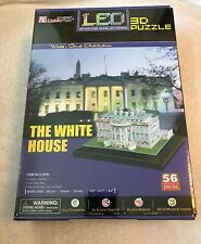 Cubic Fun The White House LED 3D Puzzle No Tools Required