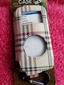 Designer Look Case 1st & 2nd Generation Ipod Nano Tan New