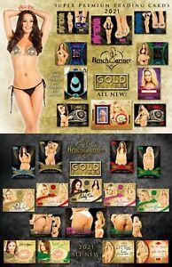 SHELLY MARTINEZ 2021 BENCHWARMER GOLD EDITION 1 FULL CASE 8 BOX MODEL BREAK #5