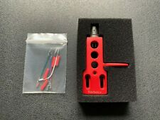 More details for 1 x headshell replacement for technics sl 1200 1210 mk2, m3d, mk5, mk5g in red