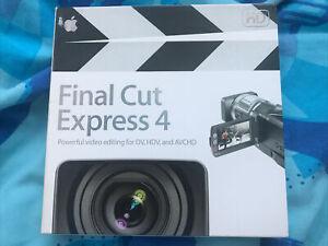 Apple Mac Final Cut Express 4