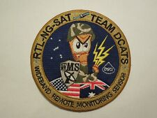 Wideband Remote Monitoring Sensor RTL-NG-SAT Team DCATS Patch