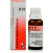 Pack of 5 Dr. Reckeweg R19 Glandular Drops For Men Homeopathic Medicine 22 ml