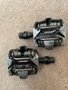 Time ATAC Alium Pedals Black LOW MILEAGE No Cleats