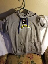 LOS ANGELES CHARGERS HOODIE - WOMENS XL - NIKE