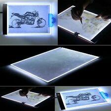 Dimmable USB&A4 LED Light Box Tracing Board Art Stencil Drawing Pattern Pad Hot