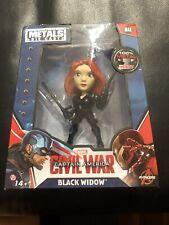 "4"" METALFIGS Marvel: Black Widow (M48) Avengers Classic Figurine"