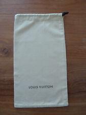 *Louis Vuitton*Staubbeutel/Dustbag*20,5x37cm*Beige*Baumwolle*Ziehkordel*