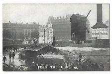 Military Patriotic Feed the Guns Vintage Postcard  30.9
