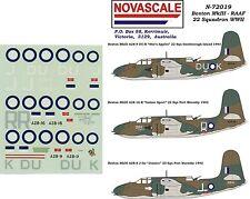 RAAF Boston MkIII Decals 1/72 Scale N72019